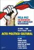 Ato Político Cultural | Pela paz, Solidariedade com a REvol_1