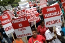 Fim à desestabilização e ao bloqueio Solidariedade com a Revolução bolivariana e o povo venezuelano_1