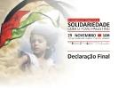 Seminário Internacional de Solidariedade com o Povo Palestino _8
