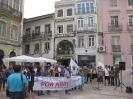 Vigília de solidariedade com o povo da Palestina em Coimbra_1